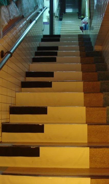 女书店16周年庆的情键楼梯