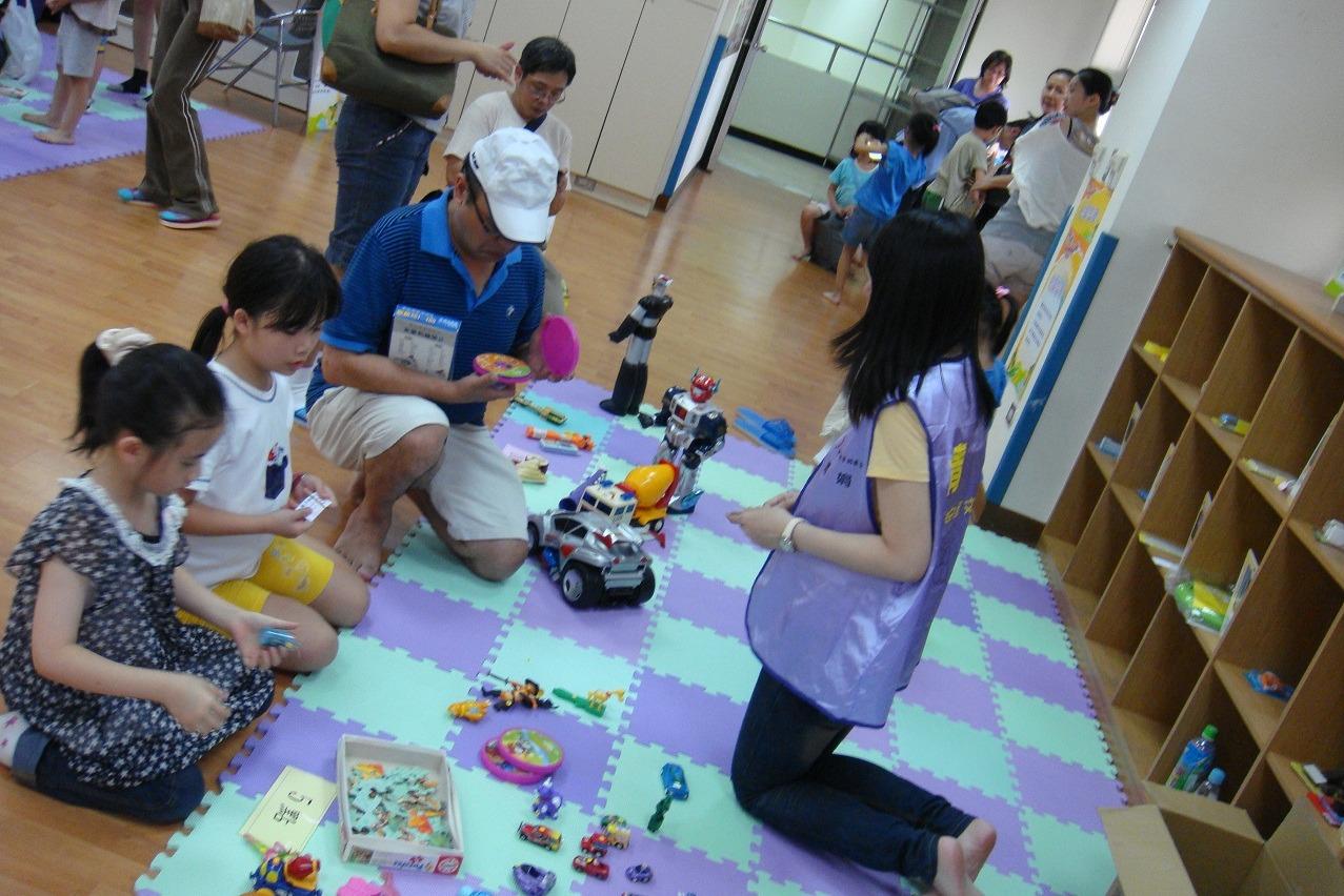 活動成果3 親子館二手交換玩具活動