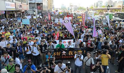 【記協會訊】901反媒體壟斷大遊行 近萬人民站出來