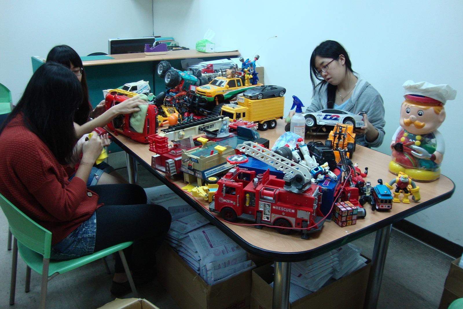 活動快訊2─福安中心玩具交換活動