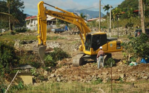 【重建/文資】搶救遺址,嘉蘭原鄉重建土地全面停工