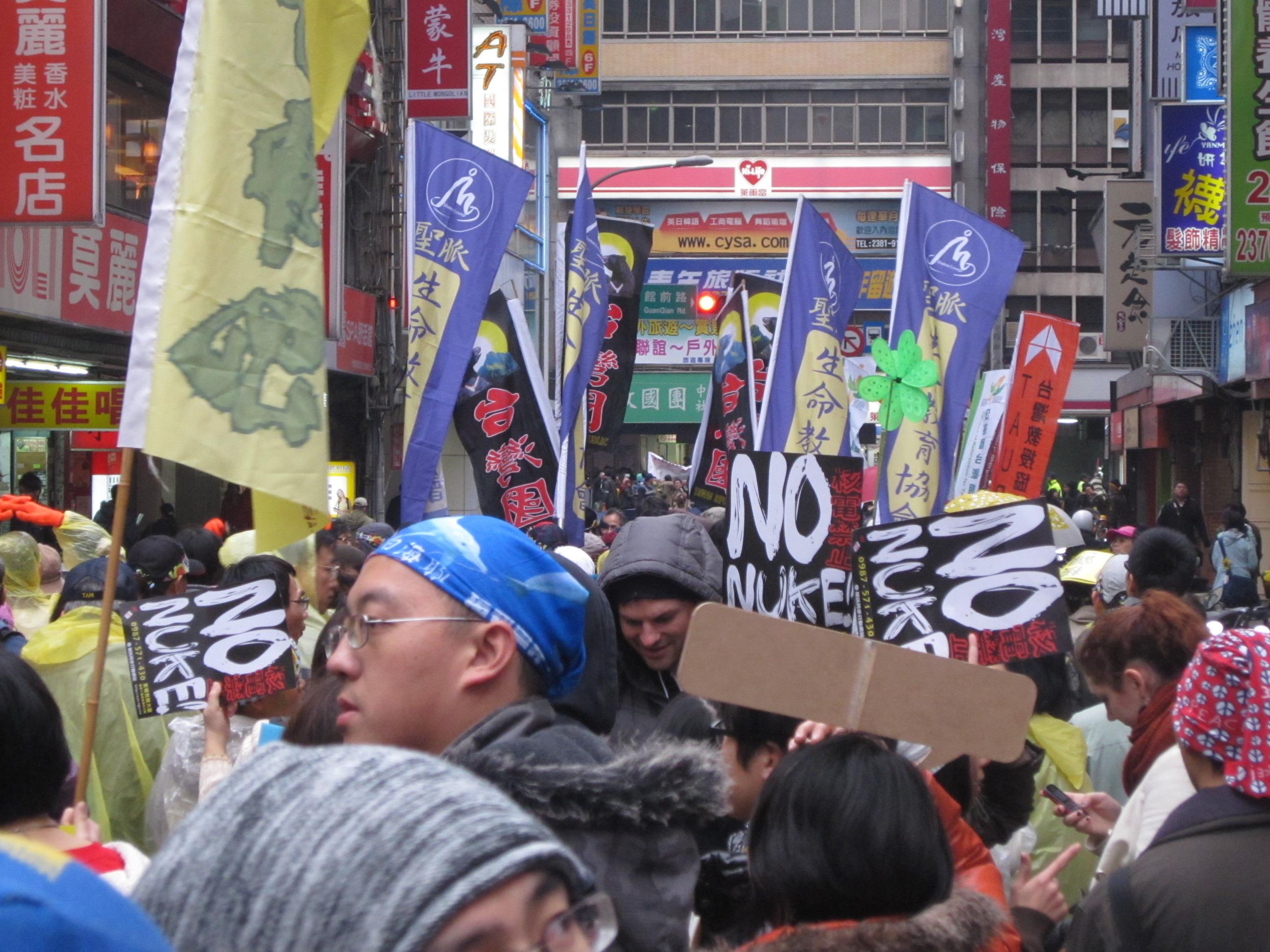 【社造頭條】台灣311怎麼過?遊行中的看見