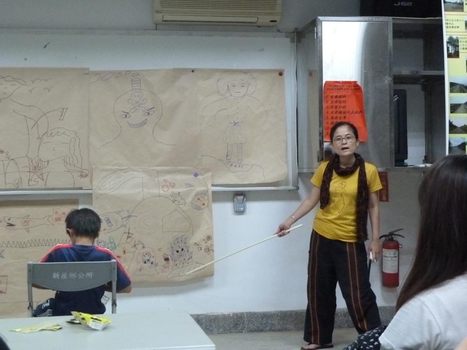 桃園縣社區劇場---環境,與我們的偶
