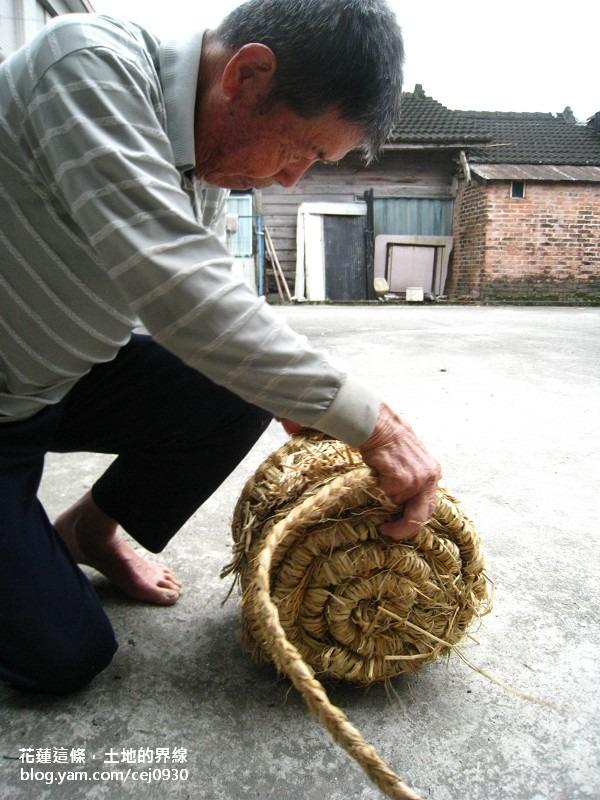 【社造大小事 1】花蓮這條,土地的界線<3>吉安,手做的禾稈凳
