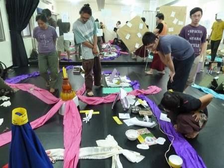 泰國油甘子劇團工作坊心得--劇場美學的再思考