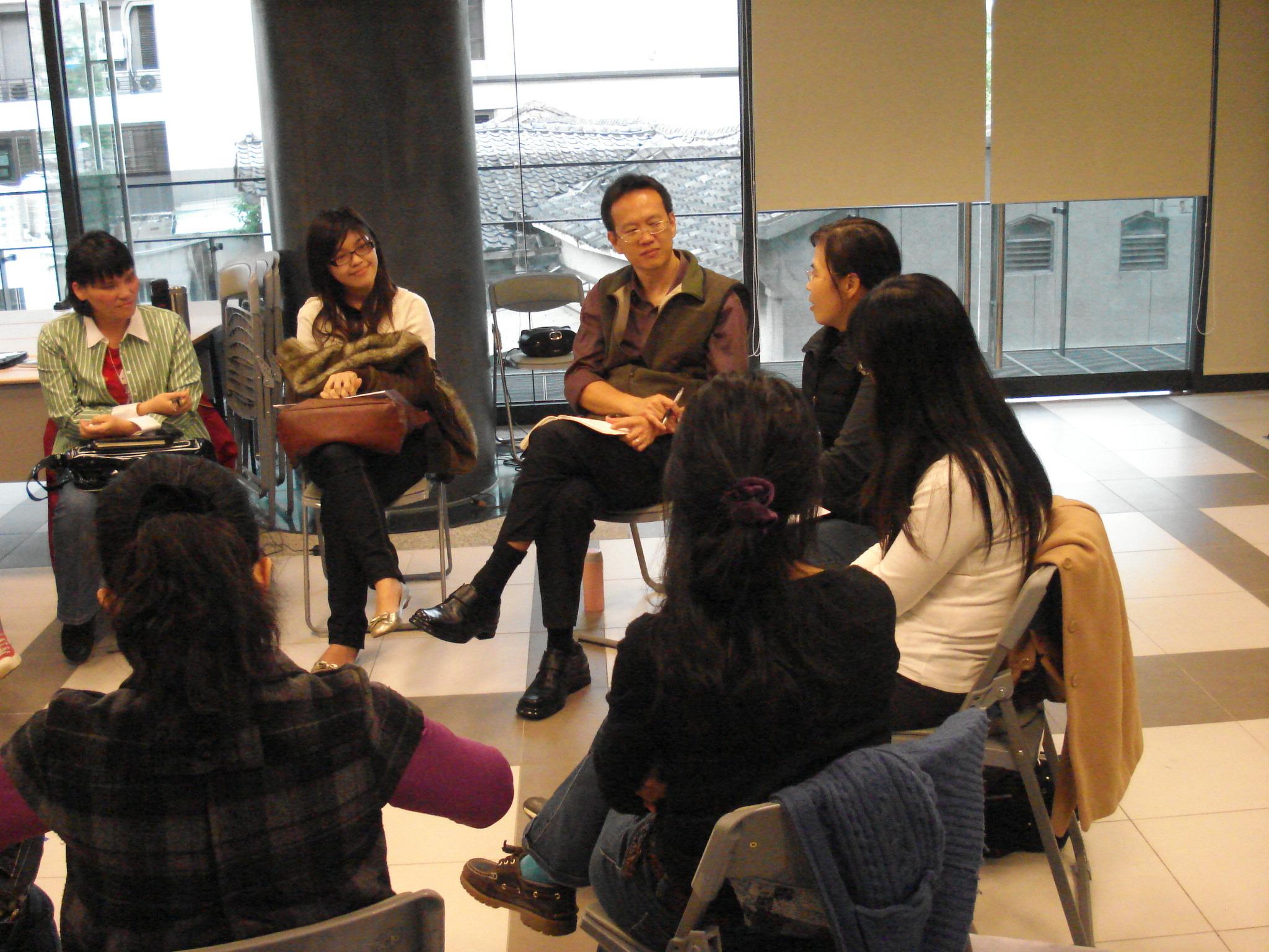 第六屆兒童系統教育志工培訓課程紀實:2010/4/17