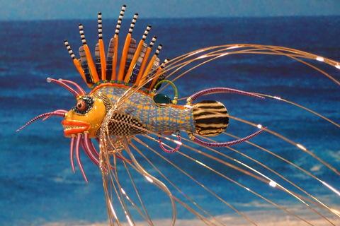 生命是美麗的~「水藍之舞—藝魚特展」欣賞後記