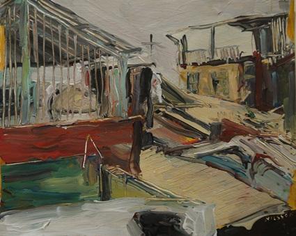 【活動報導】紐約新銳畫家Mark Nilsson眼中的南台灣!