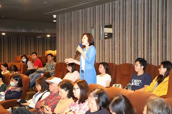 臺北市政府衛生局2019心理健康月「說出感受系列影展」~《囧媽的極地任務》肯愛家聚活動