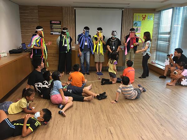 情緒森林大冒險,暑期兒童自我探索挑戰營報導
