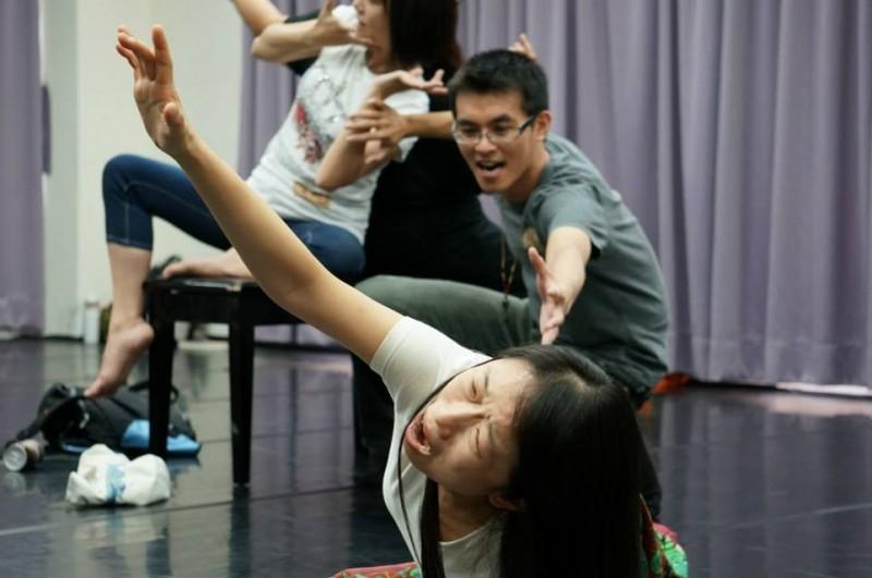 青年團專欄: 桃園「以戲劇手法進行公民教育工作坊」進階課程報導