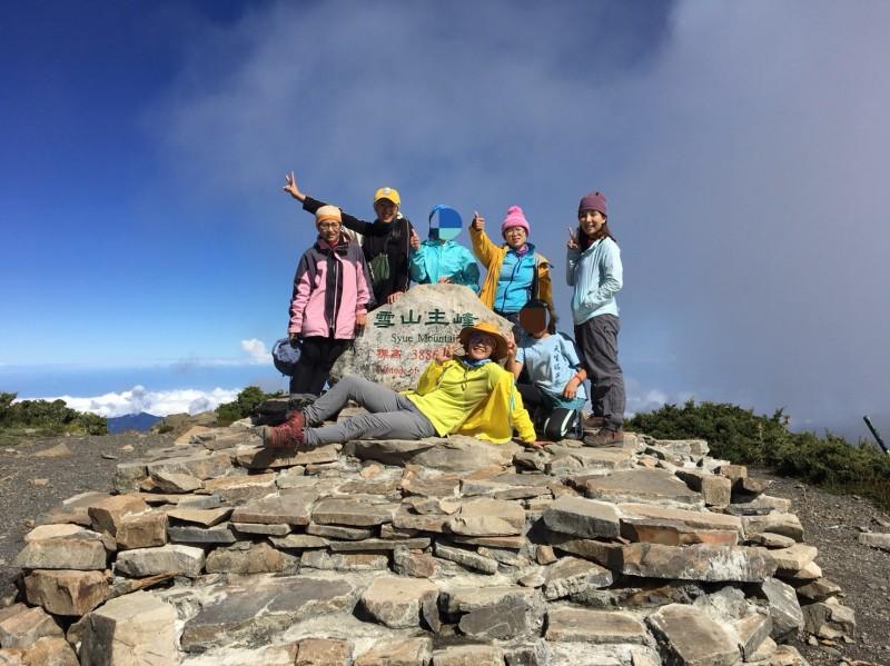 【向日葵少女】登峰-不容易的雪山挑戰
