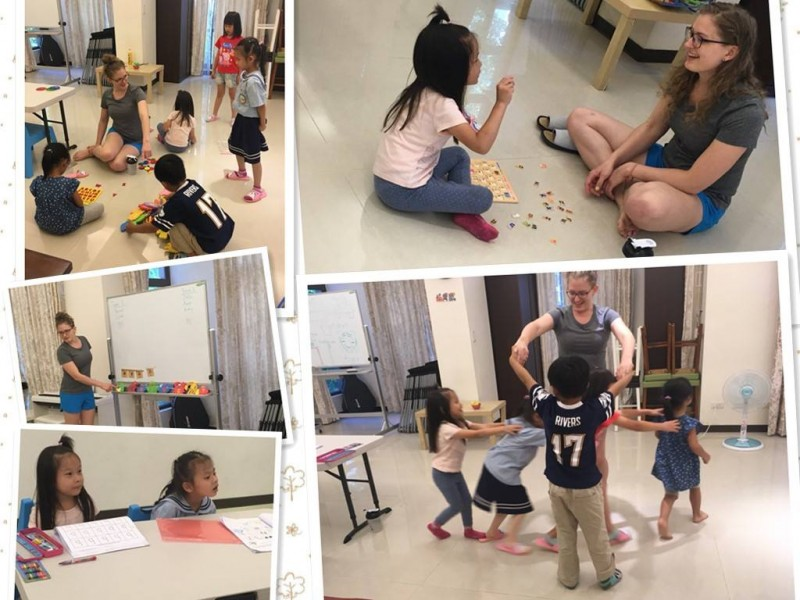【活動報導】兒童英文遊戲站