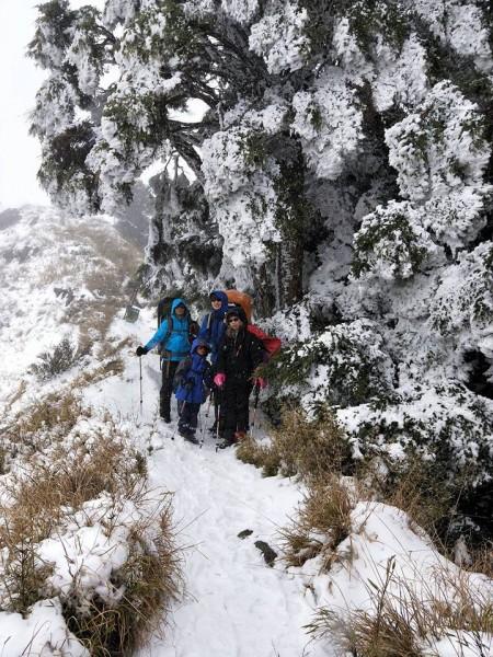 2019寒假親子營隊 ●雪山東峰親子團