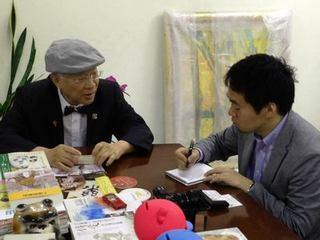 朝日新聞駐台特派員鵜飼先生專訪羅東聖母醫院陳永興院長