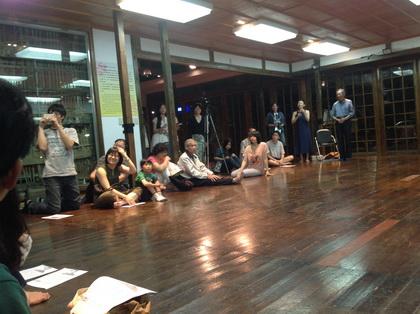 詹天甄老師獻給蔡焜霖前輩的舞蹈