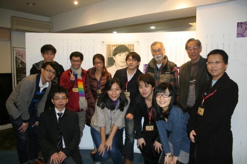 《紀念室參訪》早稻田大學與台灣大學師生參訪