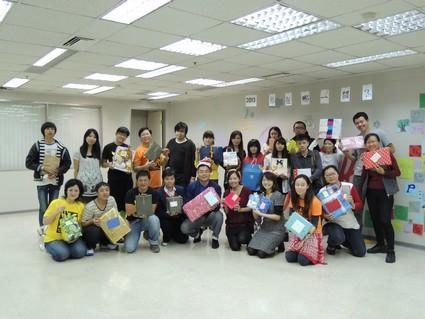 展翅桃園少年服務中心:「微軟聖誕送暖」活動