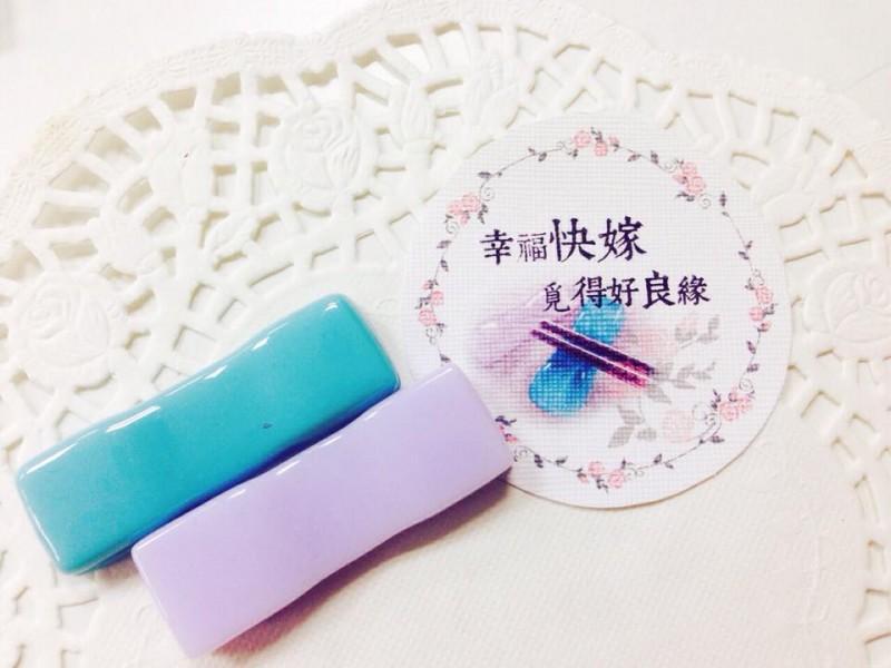 展翅工坊作品介紹--幸福筷架