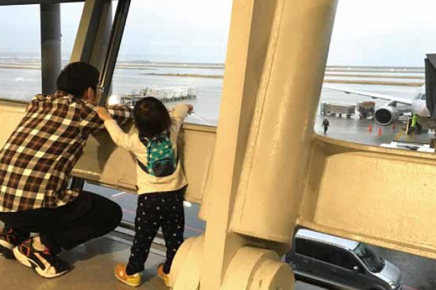 帶小孩搭飛機