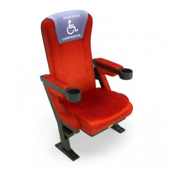 無障礙電影院優先席位 (下) : ADA座位規範與實例延伸