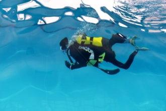 「潛」進海洋夢想 殘盟首創國內障礙者潛水考照訓練