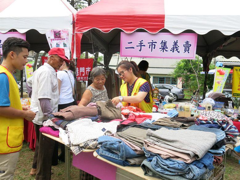 【環保生活】台塑義賣活動