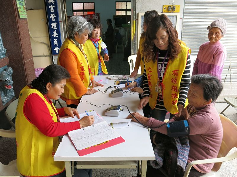 【社區服務】健康補給站-三間村
