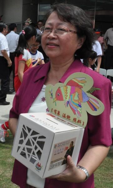 高雄市社會局副局長謝琍琍期許高雄成為友善老人的幸福城市