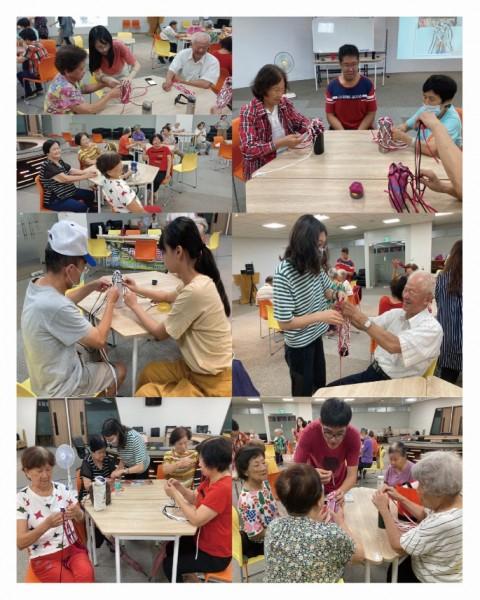 07/20 三和里社區關懷據點活動 | 手作達人