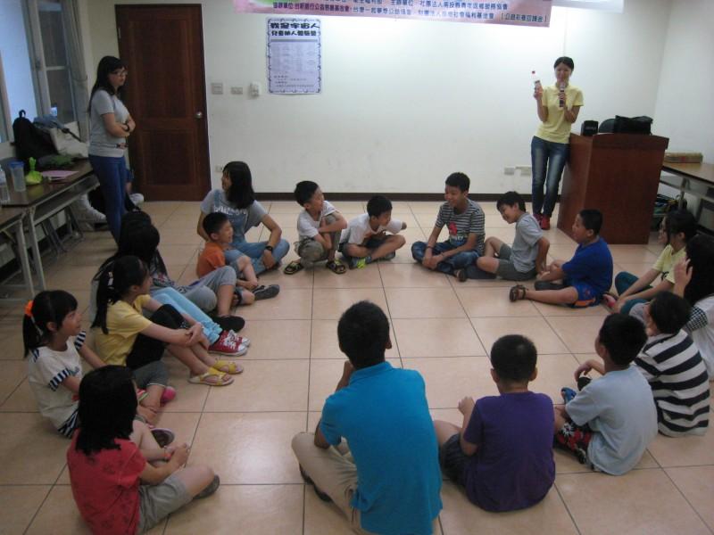 為孩子點一盞燈-暑假助人體驗營