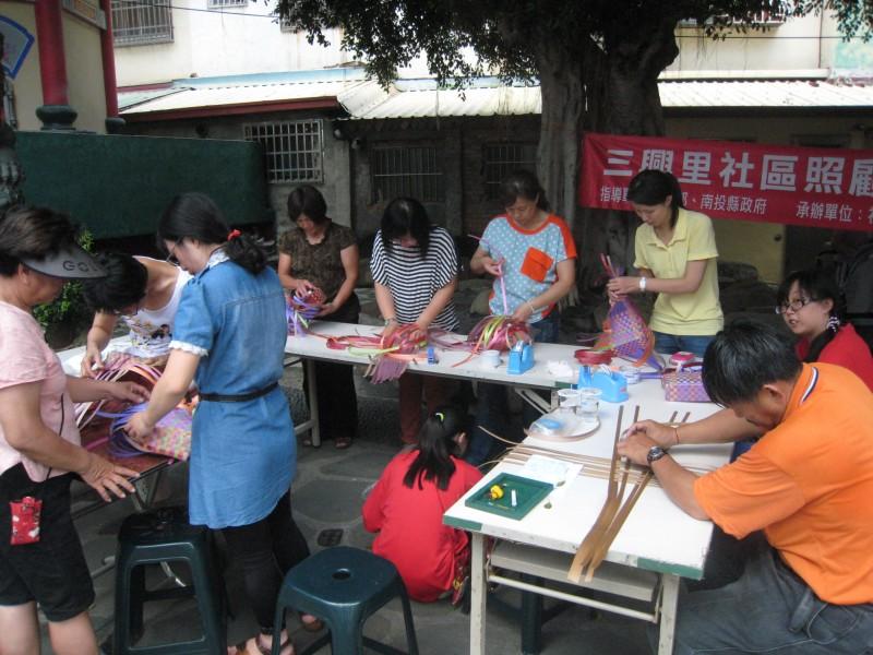 社區照顧據點-手工編織袋