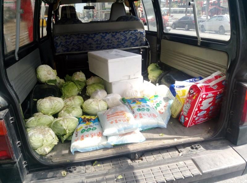 感謝花蔬運銷合作社 捐贈本會生鮮蔬果