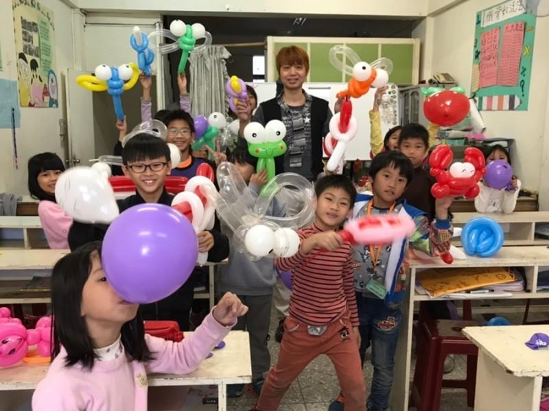 寒假生活營-造型氣球