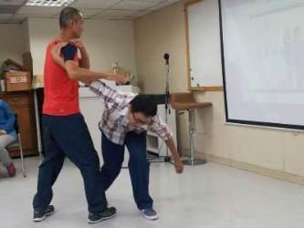 103年雙連臨托保育員訓練課程內容:簡易防身術