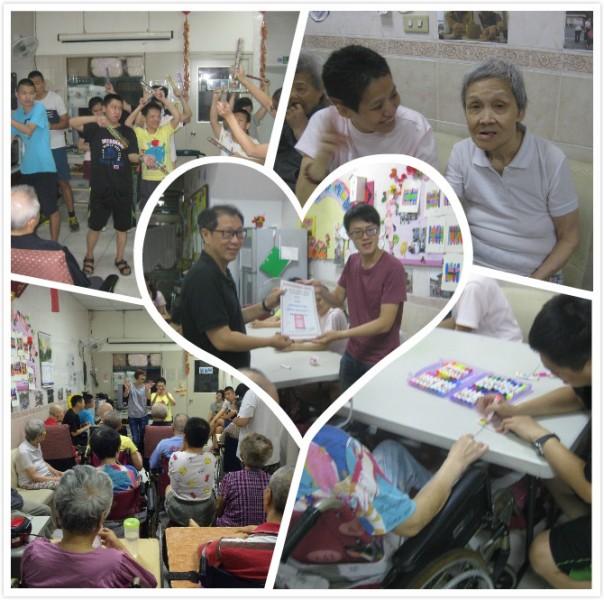 中正萬華身障資源中心興寧學坊-葉爸爸葉媽媽老人養護所活動心得