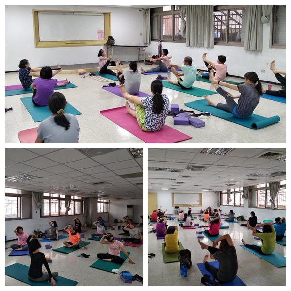 【信義南港身障資源中心】第二期社區課程-生活瑜珈