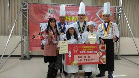 我參加「桃園第一屆生命鬥士美食廚藝競賽」得獎感言