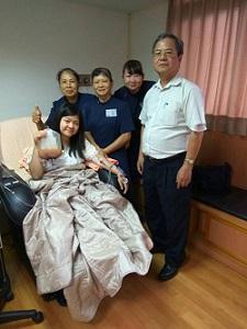 為了救人祈求觀世音 終於盼得捐出造血幹細胞救人