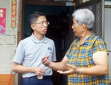 慈濟安心家訪網  林邊六村挨家送祝福